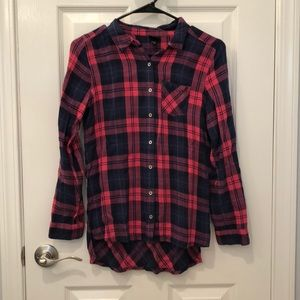 Tops - Flannel blouse